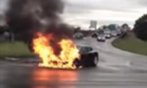 Tesla-fire